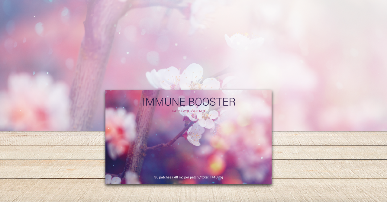Immun-Booster-Pflaster
