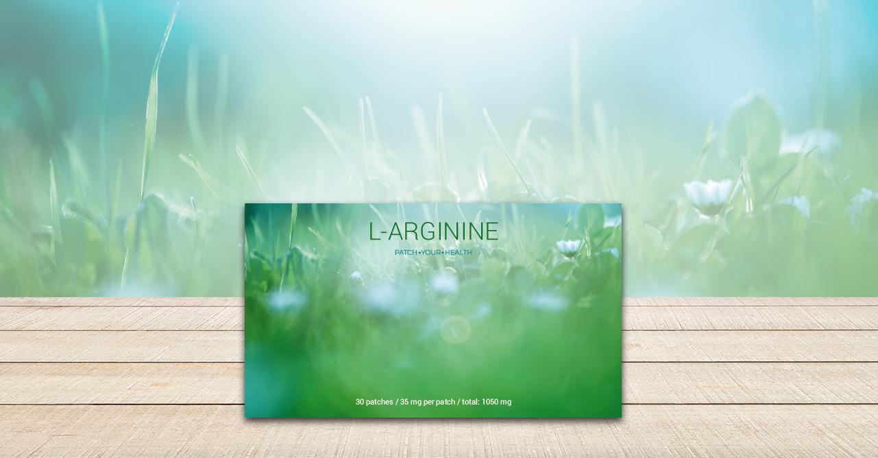 L-Arginin-Pflaster