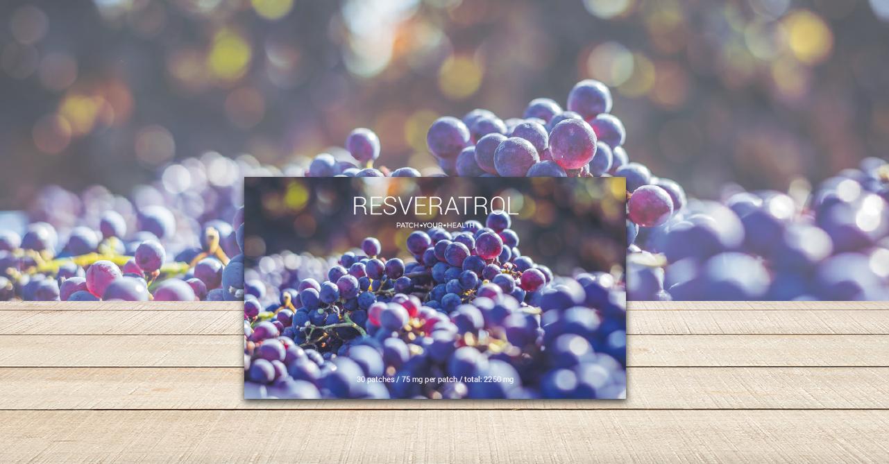 Resveratrol-Pflaster